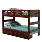 Found it at Wayfair - Twin over Twin Standard Bunk Bed with Underbed Storage