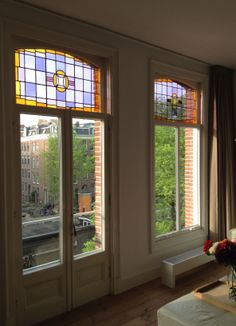 Beautiful windows, apartment Amsterdam