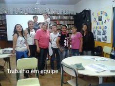 Sala de Leitura - Diretoria de Ensino de Jales - Município de Marinópolis - Escola Antônio Marin Cruz.