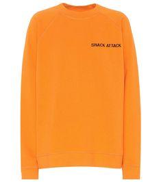 GANNI Lott Isoli cotton sweatshirt. #ganni #cloth #