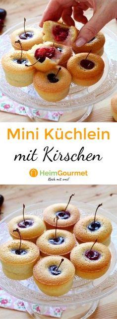 Dieses tolle Rezept ist selbst für Backanfänger geeignet. Super schnell und einfach, dabei köstlich saftig und fruchtig süß dank der Kirsche.