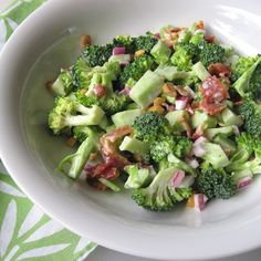broccoli salad 6 picniked
