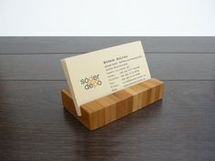 Business card holder business card stand rustic office decor business card holder bamboo business card holder by magowood colourmoves