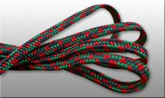 Schigeuchi 3color sageo in black - red - green. Lenth 220cm, also available in other diameters. Thick, great quality, unusual colors. Hand made in Japan using traditional kumihimo technics.