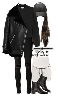 """""""Untitled #8426"""" by nikka-phillips ❤ liked on Polyvore featuring Yves Saint Laurent, rag & bone, rag & bone/JEAN and Acne Studios"""