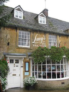 "Lucy's Tea Room, Cotswolds UK to take ""my"" Lucy there would be a treat!"