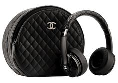 Got a spare £5000? Then these Chanel quilted black leather headphones could soon be yours...