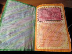 wreck this journal warning page
