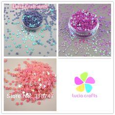 10 그램/20 그램 3 미리메터 꽃 모양 플레이크 무지개 컵 장식 조각 웨딩 색종이 24010034
