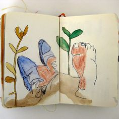 Today I am excited to share a beautiful bunch of sketchbooks by a talented student of Maryland Institute College of Art (aka MICA). Alison Worman ... read more