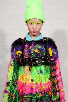 Skeletal Knitwear Collections - The Valeriya Olkhova Organic Fxtish Line is Disheveled