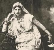 Anita Delgado Maharani Prem Kumari was a Spanish Flamenco dancer married to Maharaja Sir Jagatjit Singh Bahadur of Kapurthala who went to Madrid to attend King Alfonso XII's wedding in 1906 and visited the Spanish Theatre..He saw Anita Delgado who was only 16 and her sister who were engaged to raise the curtains during the show. They wanted to make a movie about her with Penelope cruz but the royal family of kapurthala were against it