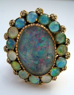 Vintage Opal Ring.  Wouldn't it be loverrrrly.
