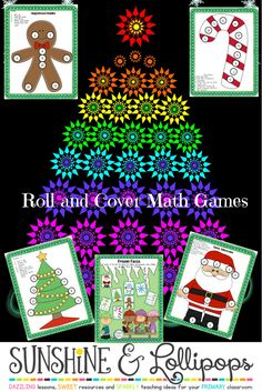Fun Roll and Cover Dice Games to reinforce addition and subtraction: Dice Addition Dice Subtraction Adding Doubles Adding Doubles +1 Adding Doubles +2 Adding 3 Numbers Adding 10 Subtracting Doubles -1 Subtracting 10 WOW! I think you're gonna like it!!!!
