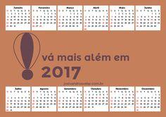 CALENDÁRIO 2017 VÁ MAIS ALÉM 5