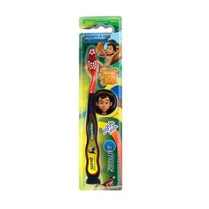 Presenting aquawhite Jiggle Wiggle Toothbrush. aquawhite is the exclusive official license holder of  THE JUNGLE BOOK character. Multi- Coloured tooth brush is interesting, unique and fun for the kids and their favourite character on the brush will prompt them to brush 2 times every day thus giving Mothers a hassle free morning & night.   Made with Premium Soft Tynex DuPont Bristles which are gentle on kids teeth & gums. Beautiful wavy design handle gives easy grip to the little hands