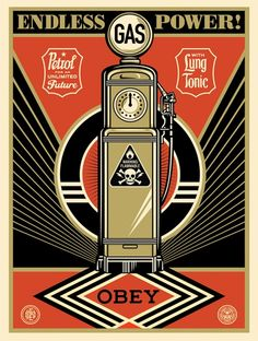 Endless Power | OBEY | Shepard Fairey