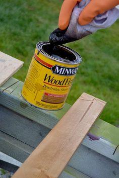 Staining Wood Trim