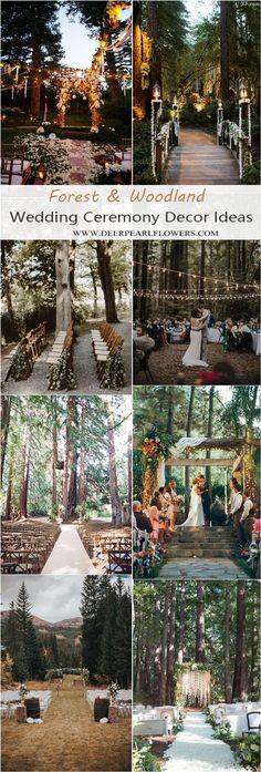 20 Stunning Woodland & Forest Wedding Ceremony Ideas – Wedding Tips & Themes Wedding Ceremony Ideas, Ceremony Arch, Outdoor Ceremony, Ribbon Wedding, Wedding Arches, Wedding Backdrops, Ceremony Programs, Wedding Ceremonies, Outdoor Weddings