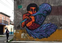 Bastardilla* Graffiti art from Bogota