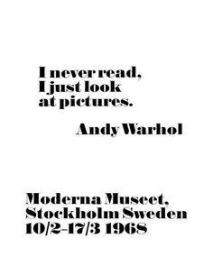 Andy Warhol - Moderna Museet