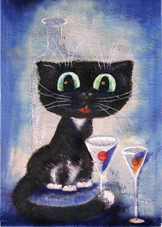 by Boris Kasyanov I Love Cats, Cute Cats, Cat Towers, Here Kitty Kitty, Kitty Cats, Kinds Of Cats, Dog Poster, Popular Artists, Baby Kittens