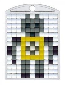 Knutselpakket Pixelhobby sleutelhanger robot