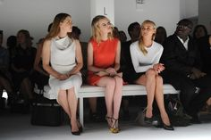 Amy Adams, Emma Stone and Diane Kruger at the Calvin Klein Spring/Summer 2013 show during NYFW, September 13th