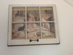 Vintage Window Frame by ColleenSchnable on Etsy, $95.00