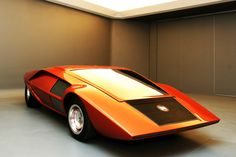 Stratos Zero, saw it at the Petersen Museum.   You have to see in real life, the proportions truly come out and can't be rendered by a picture.