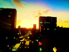 Sunset Av.Conde da Boa Vista