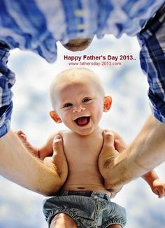Cute Father's Day Pictures and Images For Kids, Children 2013