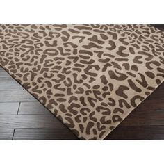 Great Rug! - Athena ATH-5000 - 100% WoolHand TuftedMade in India - Custom Sizes Available - Available in 5 Colors - Plush PileColor (Pantone TPX): Driftwood Brown (16-1412), Coffee Bean (19-1116)
