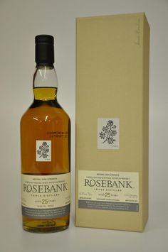 Rosebank whisky - 25 years old