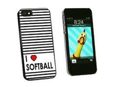 I Love Heart Softball - Snap On Hard Protective Case for Apple iPhone 5 5S - Black, http://www.amazon.ca/dp/B00AZO7H0W/ref=cm_sw_r_pi_awd_lA9ctb0XK2FBT