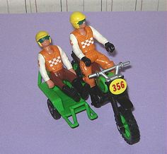 Fisher Price Adventure People Cycle Racing Team  Oh, my goodness !!!  My youngest's favorites !!!