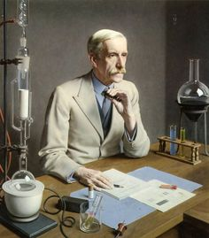 Meredith Frampton: Sir Frederick Gowland Hopkins, 1938.