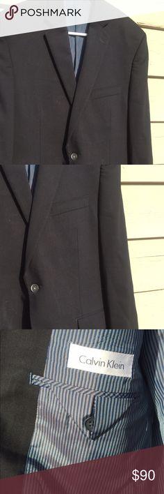 Calvin Klein Sports Jacket Navy Calvin Klein sports jacket. 40R. Calvin Klein Suits & Blazers Sport Coats & Blazers