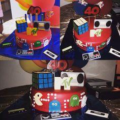 Torta años 80 Tata-Sabores Tortas & Postres