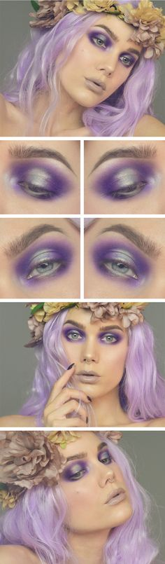 Super Creative Makeup Looks Fantasy Linda Hallberg 57 Ideas Makeup Inspo, Makeup Art, Makeup Inspiration, Makeup Ideas, Fun Makeup, Daily Makeup, Skull Makeup, Makeup Geek, Makeup Trends