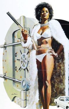 Jeannie Bell Movie Poster for 'TNT Jackson' 1974 by Robert McGinnis