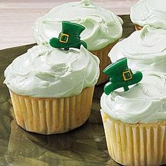 St. Patrick's Day Cupcakes Recipe from Taste of Home