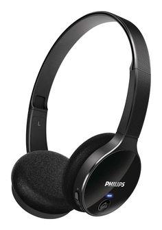 fone de ouvido supra auricular bluetooth philips shb4000