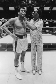 Muhammad Ali and Stevie Wonder, 1975