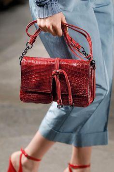 BottegaVeneta Women s Spring Summer 2017 Collection  BottegaVeneta50 Red  Bags 807333b46319d