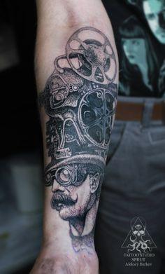 #tattoo #tattooart #tattoostudiosprut #sptuttattoo #dotwork #cinematattoo