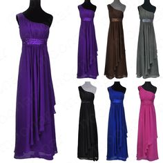 New Black/Purple Bridesmaid Long Mother Prom Gown Dress Party Plus Size 20/18/16 | eBay