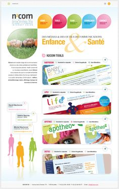 N2Com website #graphicdesign #webdesign #design #website #layout