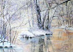 Techniques peinture : Paysages pastel sec
