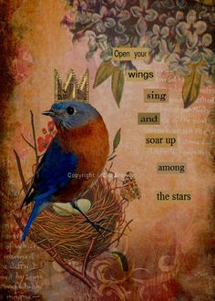 Items similar to Collage art digital collage altered art mixed media print thank you ephemera vintage collage old photo on Etsy Found Poetry, Collage Artists, Chant, Artist Trading Cards, Mixed Media Collage, Vintage Ephemera, Digital Collage, Bird Art, Medium Art